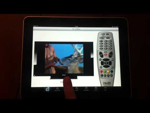 iRemoteDream dreambox iPad streaming